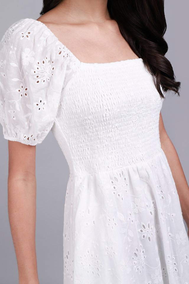 And Most Of All Dress In Classic White