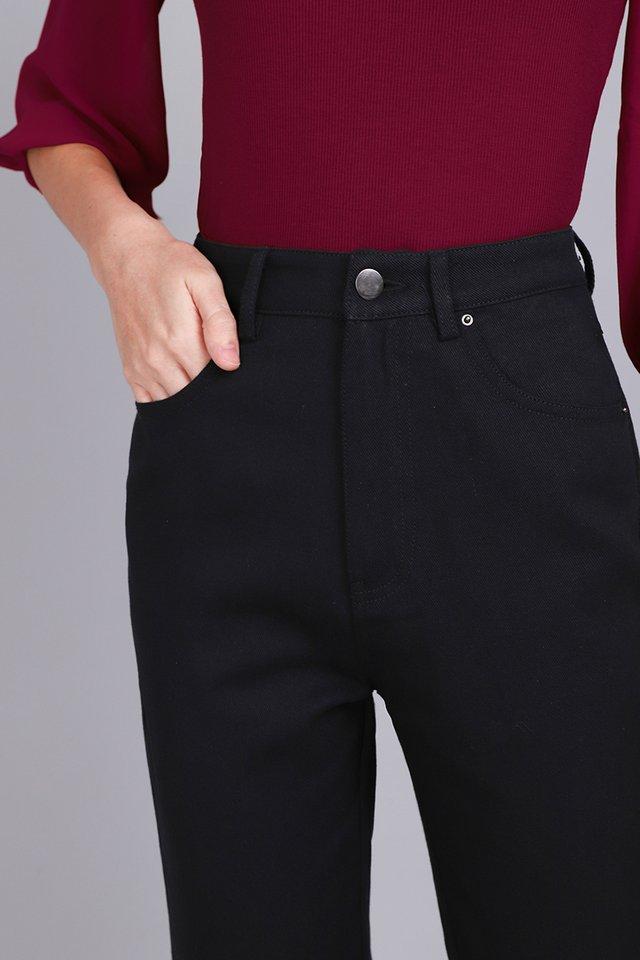 Stanley Pants In Classic Black