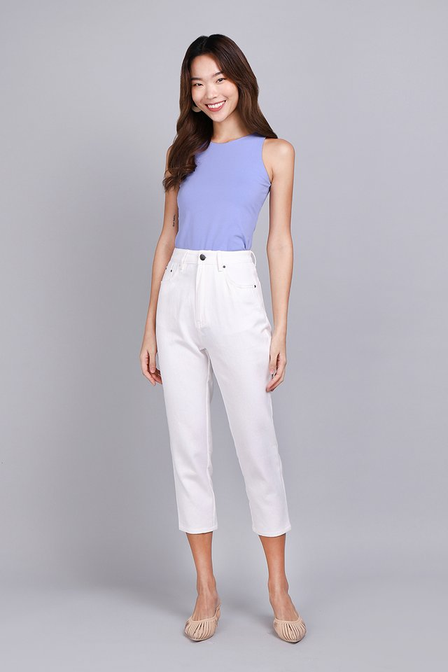 Stanley Pants In Classic White