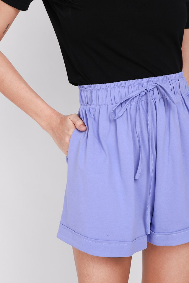 Brie Shorts In Lavender