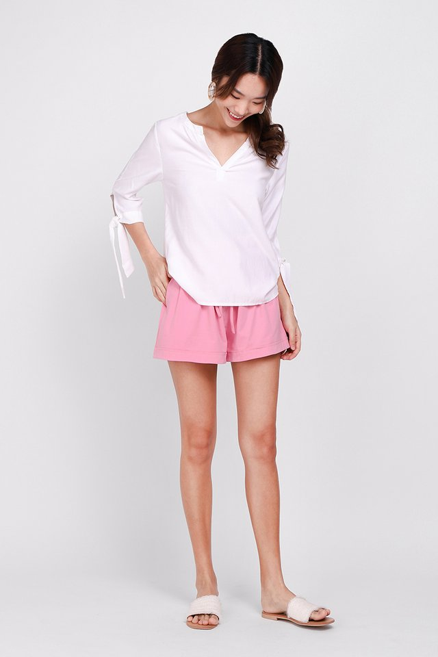 Brie Shorts In Candy Pink